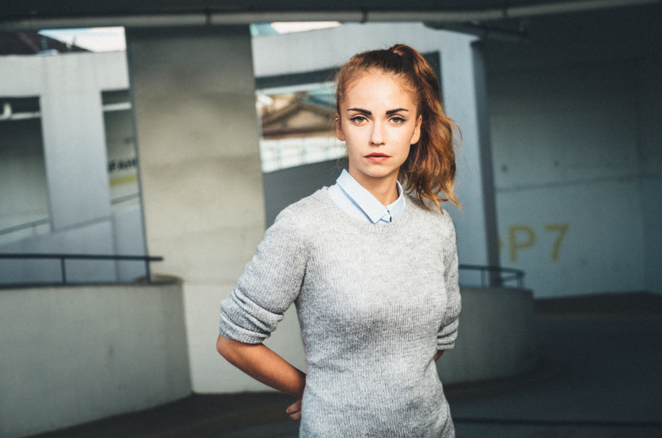 Fotoshooting mit Agnieszka