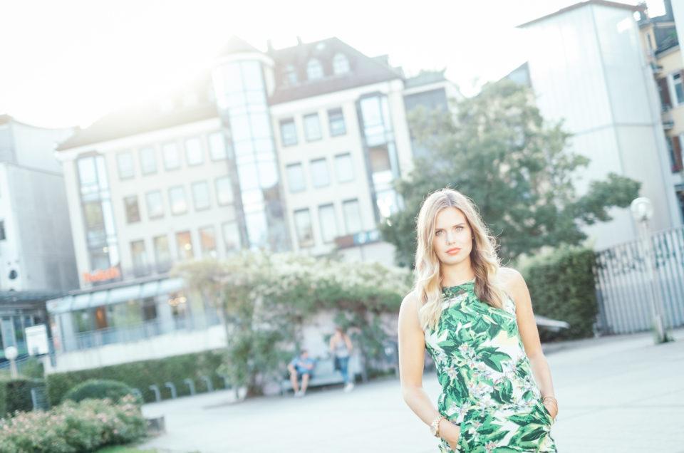 Fotoshooting mit Chiara in Ludwigsburg